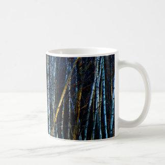 Taza De Café Abedules azules de las colinas