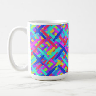 Taza de café abstracta