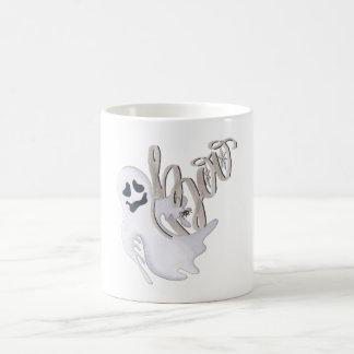 Taza De Café Abucheo y fantasma