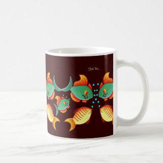 Taza De Café Acuario de los pescados