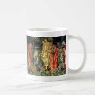 Taza De Café Adoración de los reyes el | Edward Burne-Jones