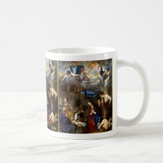 Taza De Café Adoración del Shepherds Juan Bautista Maino