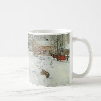 Taza De Café Adorno Åsögatan del invierno