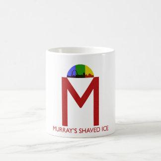 Taza de café afeitada del hielo de Murray