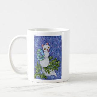 Taza De Café Afirmación de Oracle de los gatos de la fantasía -