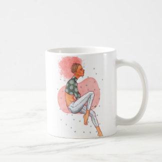 Taza De Café Afro rosado