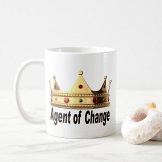 Taza De Café Agente del cambio