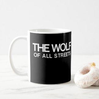Taza De Café Agradable el lobo de toda la impresión de las