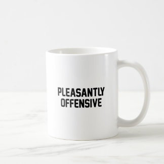 Taza De Café Agradable ofensiva