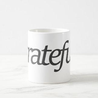 Taza De Café agradecido
