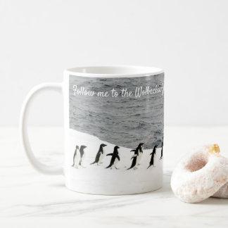 Taza De Café Ahorre los pingüinos de Adélie por RoseWrites