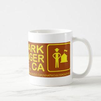 Taza De Café ahorre un abrazo del parque una materia de San