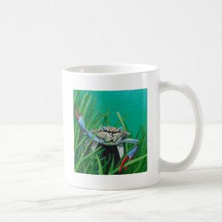 Taza De Café Ahoy resuelve el cangrejo inferior del mar del