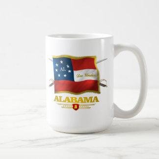 Taza De Café Alabama Deo Vindice