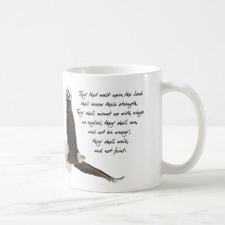 Taza De Café Alas como Eagles Isaías 4o: 31