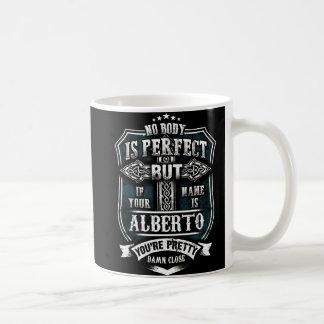 TAZA DE CAFÉ ALBERTO