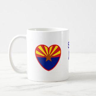 Taza De Café Alguien en Arizona me ama