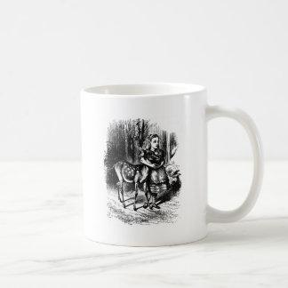 Taza De Café Alicia y un cervatillo