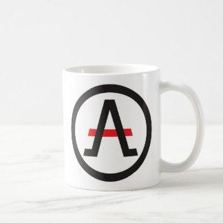 Taza De Café Alliance del libertario a la izquierda del café