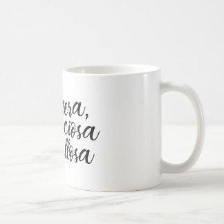 Taza De Café Altanera, preciosa y orgullosa