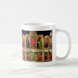 Taza De Café Altarpiece de enero van Eyck- The Gante