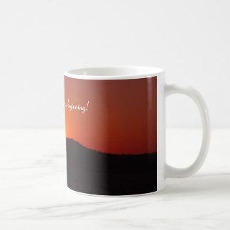 Taza De Café Amanecer del nuevo principio