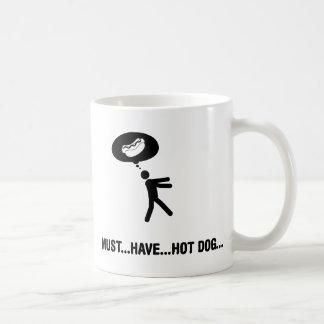 Taza De Café Amante del perrito caliente