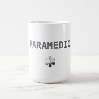Taza De Café Ambulancia del PARAMÉDICO EMT el ccsme del té de
