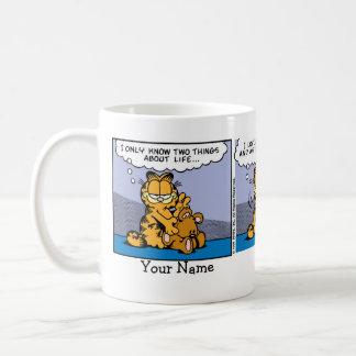 "Taza De Café ""Ame historieta de Garfield de mi oso de peluche"""