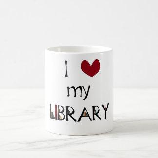 Taza De Café Ame mi biblioteca