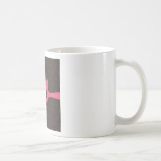 Taza De Café Ame una mano