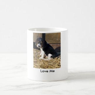 Taza De Café Ámeme - perrito lindo del beagle Snoopy
