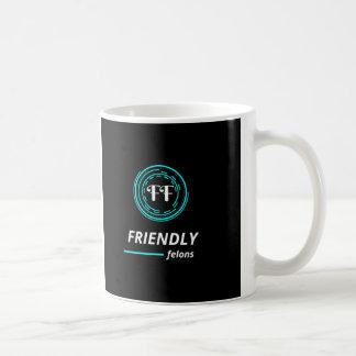 Taza de café amistosa del criminal