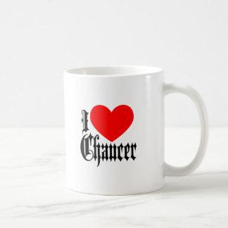 Taza De Café Amo a Chaucer