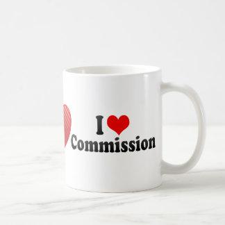 Taza De Café Amo a la Comisión