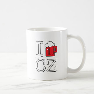 Taza De Café Amo a la CZ