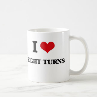 Taza De Café Amo a la derecha vueltas