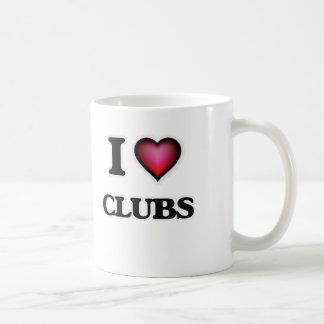 Taza De Café Amo a los clubs