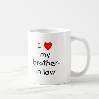 Taza De Café Amo a mi cuñado