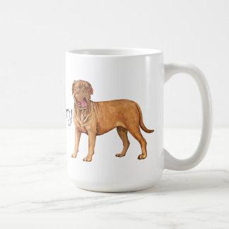 Taza De Café Amo a mi Dogue de Bordeaux