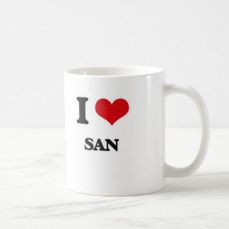 Taza De Café Amo a San