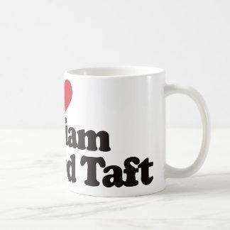 Taza De Café Amo a William Howard Taft