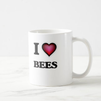 Taza De Café Amo abejas