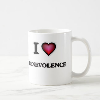 Taza De Café Amo benevolencia