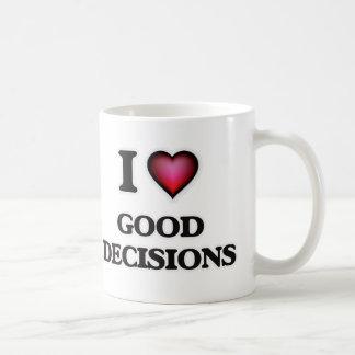 Taza De Café Amo buenas decisiones
