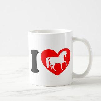 Taza De Café Amo caballos