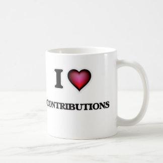 Taza De Café Amo contribuciones