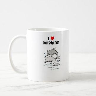 Taza De Café Amo delfínes