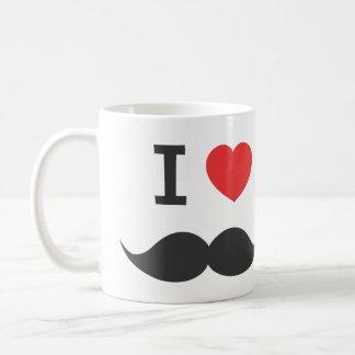 Taza De Café amo el bigote
