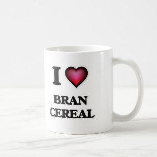 Taza De Café Amo el cereal del salvado